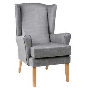Ravenna Pewter Faux Leather